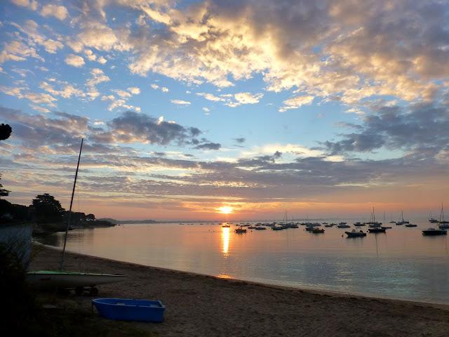 lever de soleil cette semaine à kervoyal