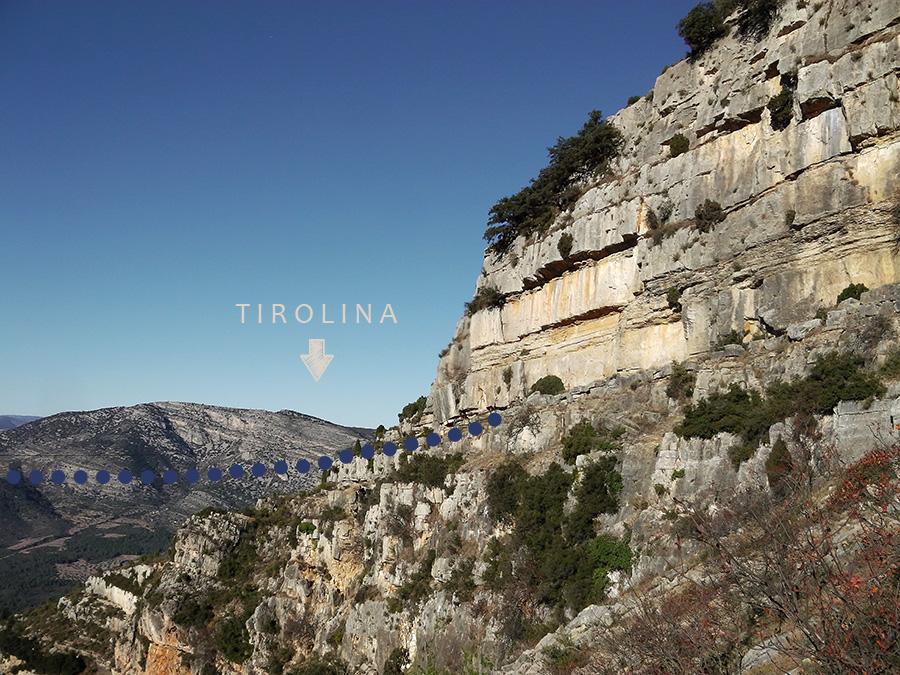 Tirolina Roc de Figueral