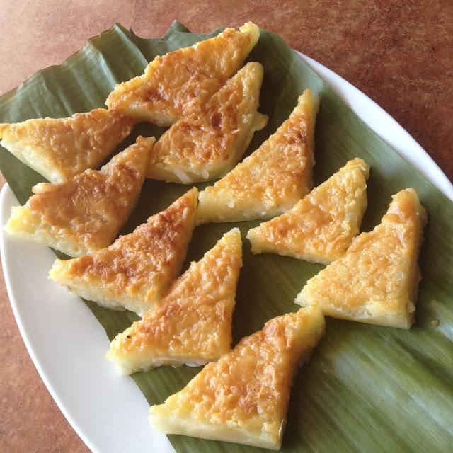 Cassava cake at Jojie's Painitang Bol-anon