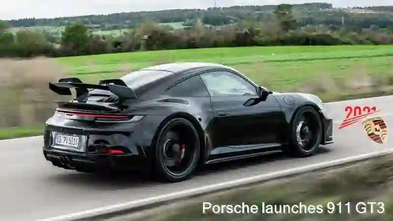 بورش تطلق 911 GT3 نسخة 2021