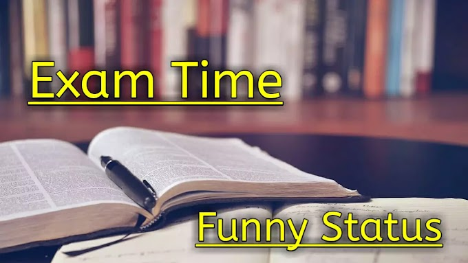 25+ Exam Time Funny Status in Hindi For Whatsapp Status