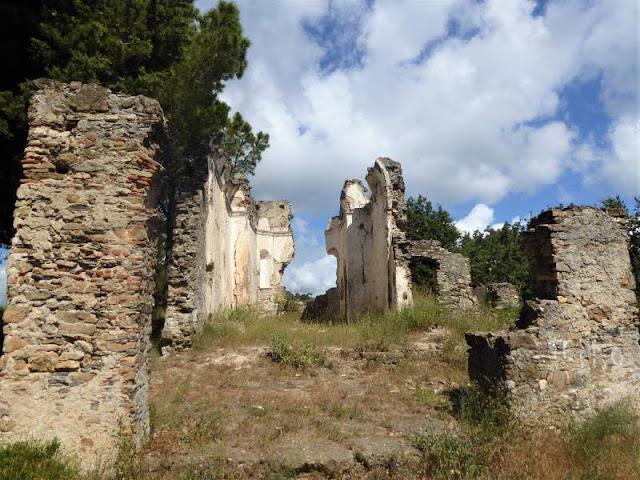 ruderi chiesa San Bernardo Alassio