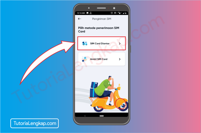 tutorialengkap 8 Cara Membuat Akun By.U untuk memesan SIM Card Secara Online