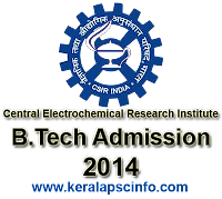 Central Electrochemical Research Institute, CSIR 2014, www.cecri.res.in , Directer CSIR-CECRI, Online CSIR BTech 2014