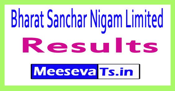Bharat Sanchar Nigam Limited BSNL Result 2017