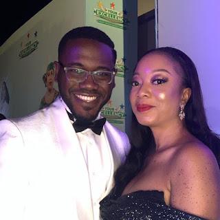 Popular Nigerian actor Deyemi Okanlawon and wife Damilola celebrate their 8th wedding anniversary