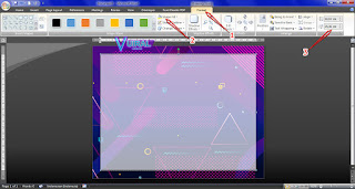 Cara Membuat Template Sertifikat Piagam Penghargaan Di Microsoft Word (Docx) 3