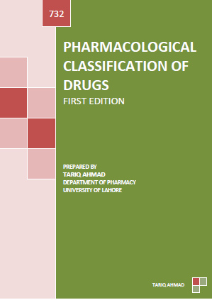 PHARMACOLOGICAL CLASSIFICATION OF DRUGS FIRST EDITION