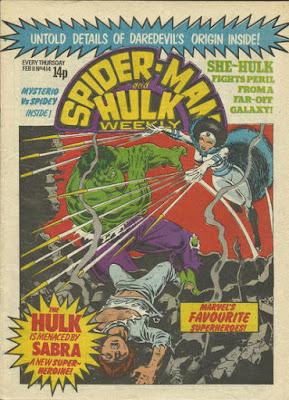 Spider-Man and Hulk Weekly #414