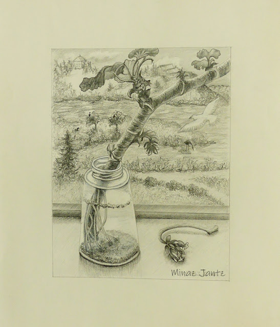 Growing Roots in Seaforth by Minaz Jantz (Pencil)