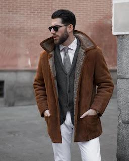 Shearling Ceket
