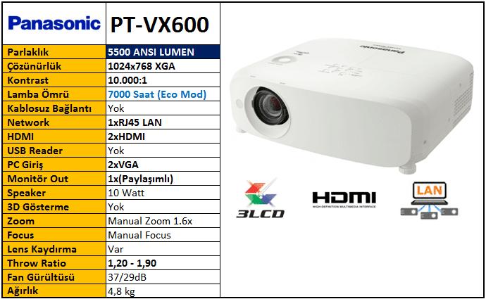 panasonic pt vx605na lcd portable projector 1024 x 768 xga 5500 rh generalprojector blogspot com Manual Panasonic Radio Panasonic Viera Manual