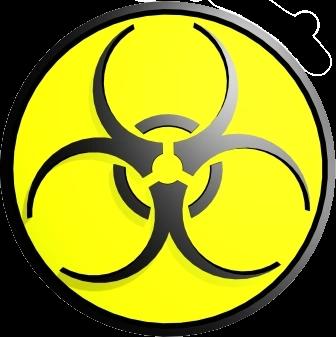 Biyolojik Çalışma yapıldığını belirten İkaz ve Uyarı İşareti