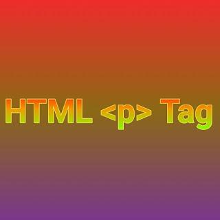 HTML <p> tag