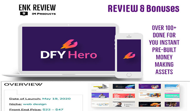 DFY Hero 2.0 Review #Infographic