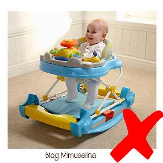 artículos que no deberías usar con bebés perjudiciales para los niños blog mimuselina tacatá andador para nños yb ebés