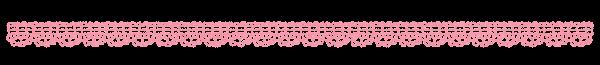 レースのラインのイラスト「ピンク」