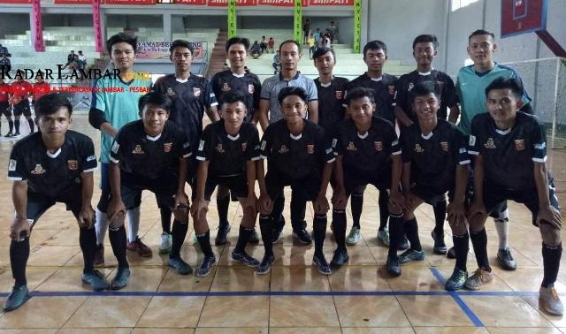 Kanaya FC Lolos Zona I Lampung Pada Liga Futsal Nusantara