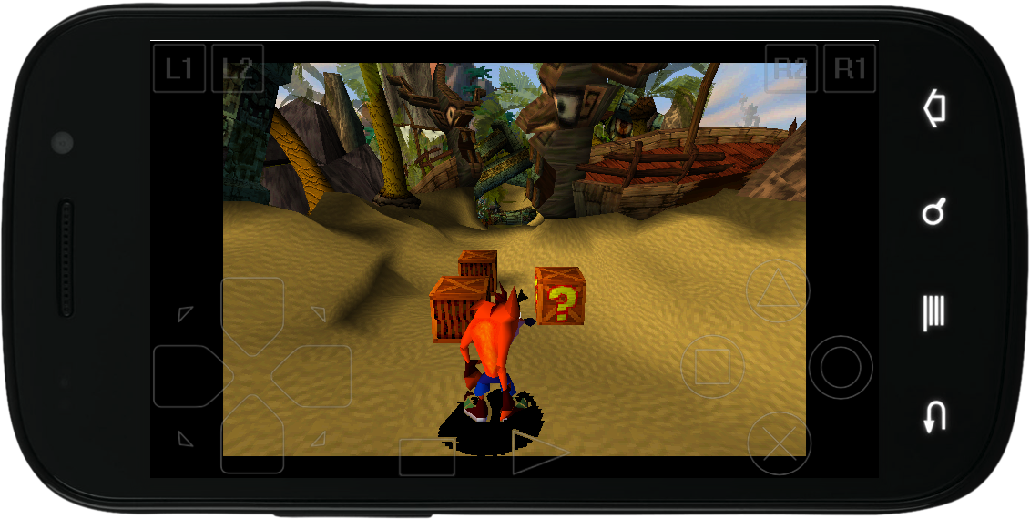 Crash Bandicoot 1 | Android | Ps1