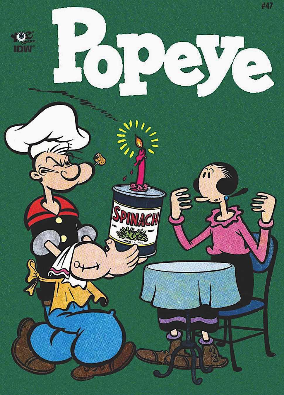 Bud Sagendorf Popeye and Olive Oyl