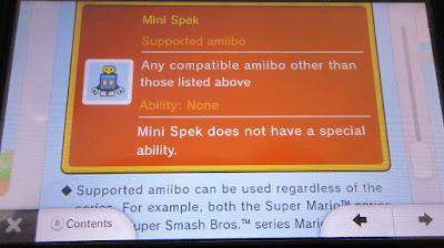 Mini Spek electronic manual Mini Mario Friends amiibo Challenge
