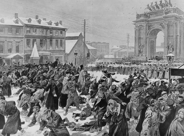 revolusi rusia, revolusi rusia 1905, revolusi rusia tahun 1905, manifesto oktober 1905, bloody sunday, peristiwa minggu berdarah, george gapon
