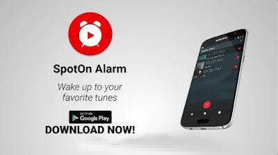 تطبيق SpotOn Alarm YouTube مُنبّه بتشغيل مسارات من يوتيوب في أندرويد