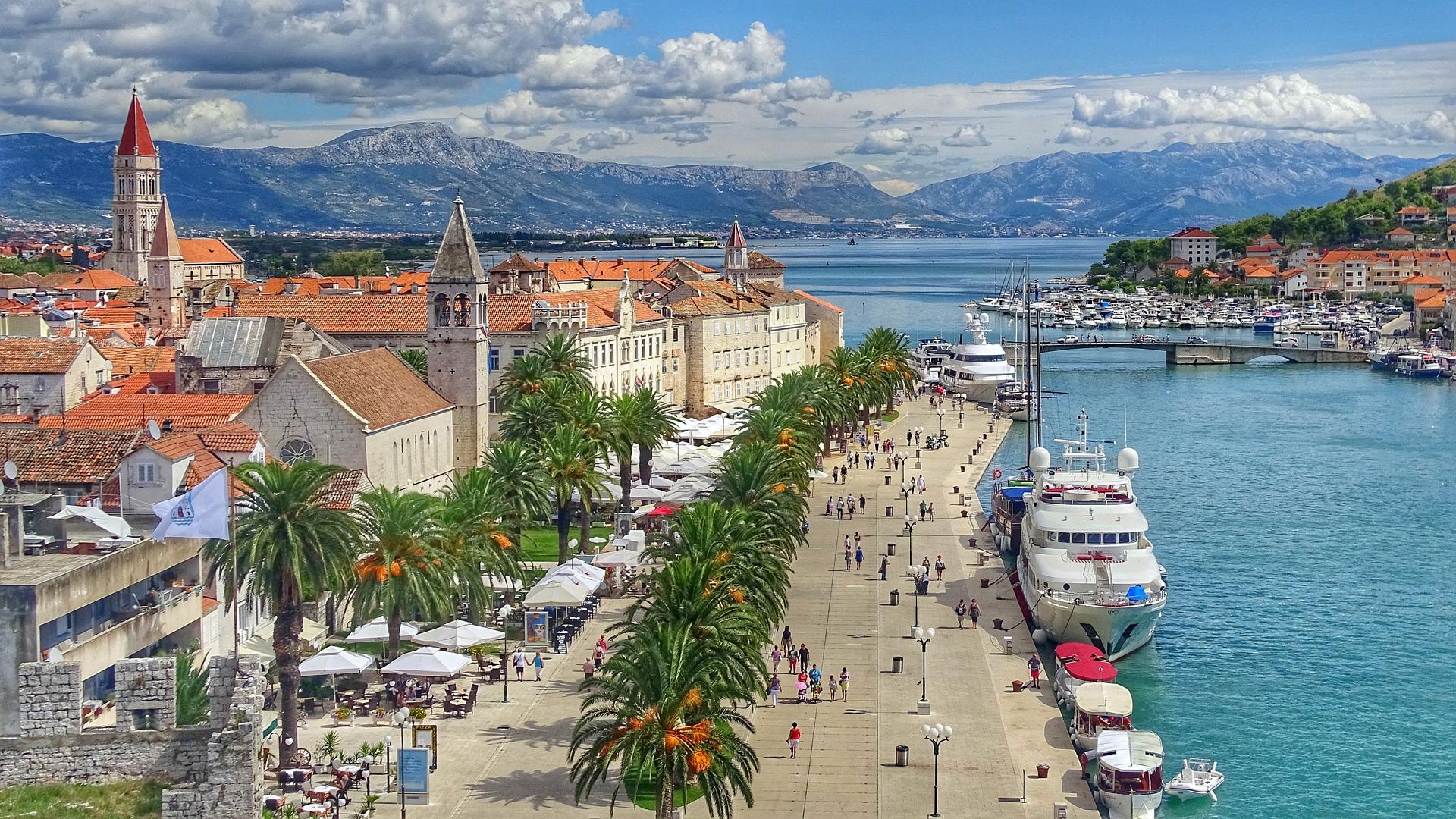 Croatia City Sea View