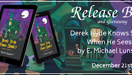 Release Blitz and Giveaway: Derek Hyde Knows Spooky When He Sees It, b C. Michael Lunsford