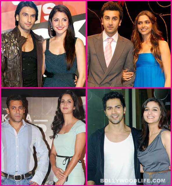 Bollywood Couples And Their Controversial Relationship Status…..!