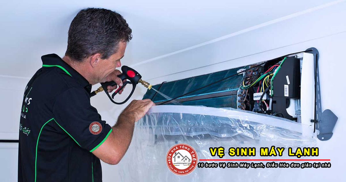 Thợ vệ sinh bảo trì máy lạnh tại nhà