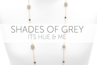 Shades of Grey Holiday Gift Guide - It's Hue and Me