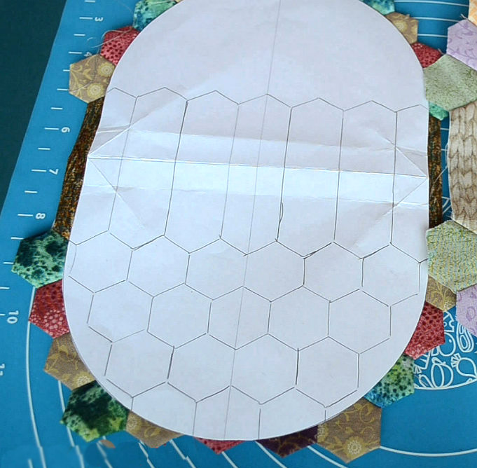 Hexagon Patchwork Purse Tutorial. How to Sew Photo Sewing Tutorial.
