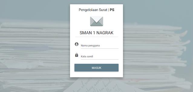 Aplikasi Pengelolaan Surat Masuk dan Keluar