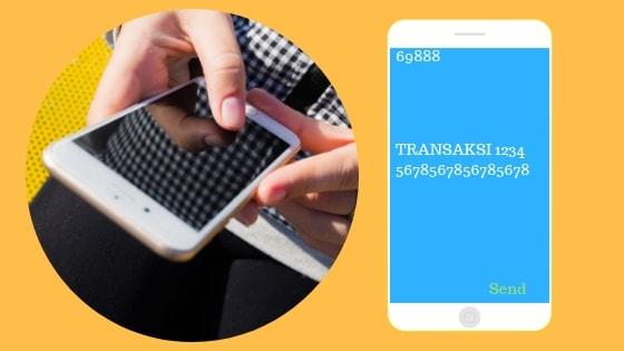 Transaksi terakhir CC BCA vis sms