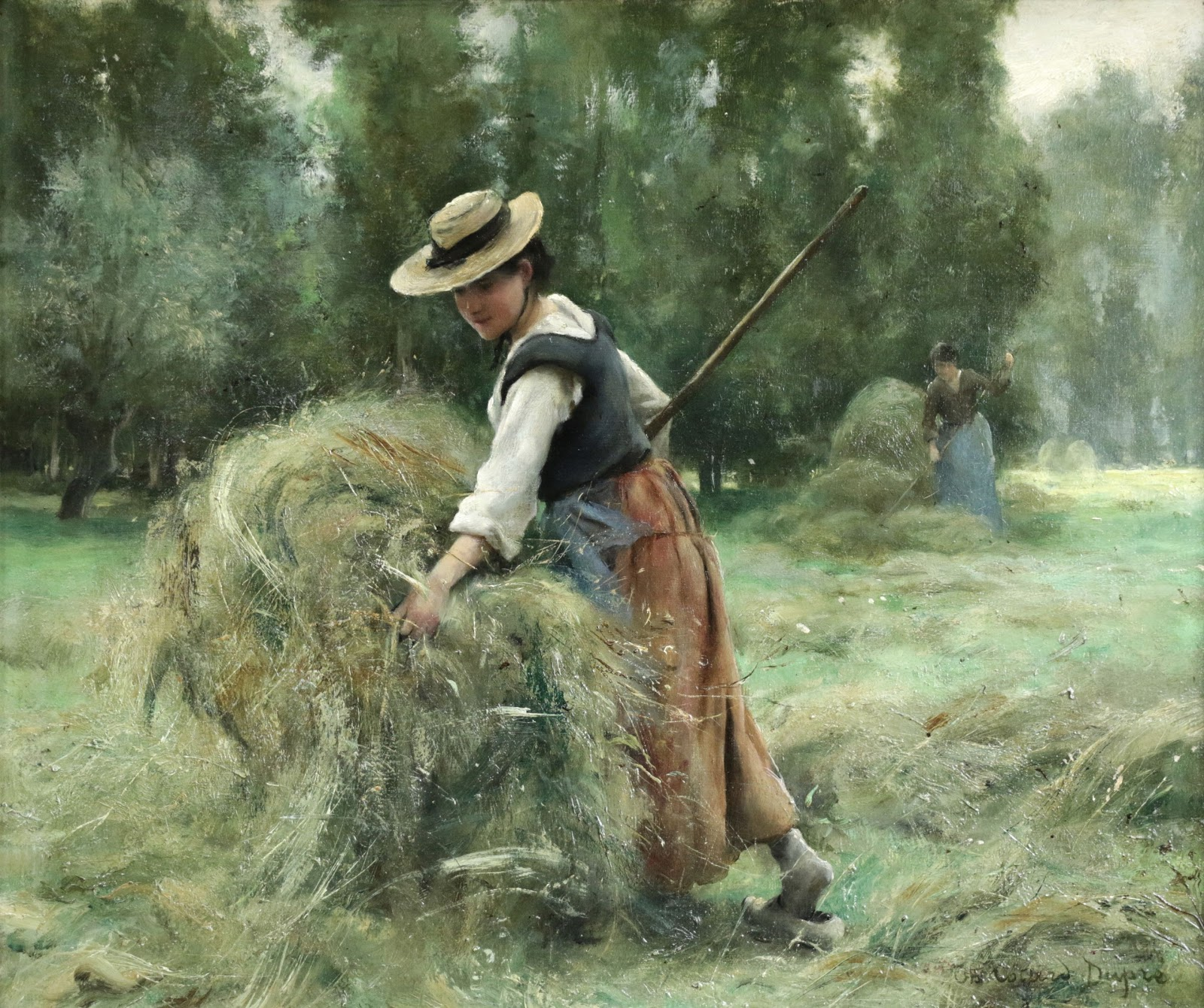 Ther C Ase Cotard Dupre The Gleaners