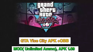 GTA VICE CITY For Android (Apk+Data)