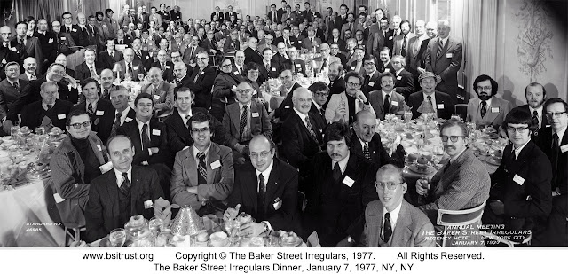 The 1977 BSI Dinner group photo