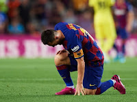 Ernesto Valverde: Lionel Messi's injury is not serious