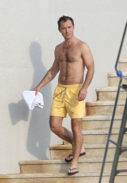 Famous Male Feet Jude Law