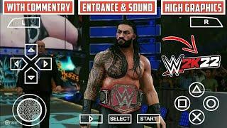 WWE 2k22 PPSSPP - PSP Iso