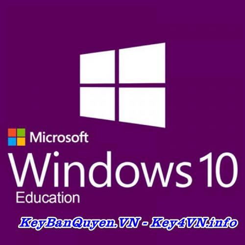 Mua bán key Windows 10 Education bản quyền Full.
