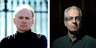 Stephen Bassett (À esquerda)e Nick Pope: ativistas pela liberaçãode informações sobre discos voadores (Crédito: Revista UFO)