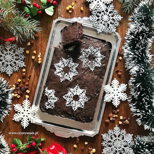 Bezglutenowe korzenne brownie świąteczne