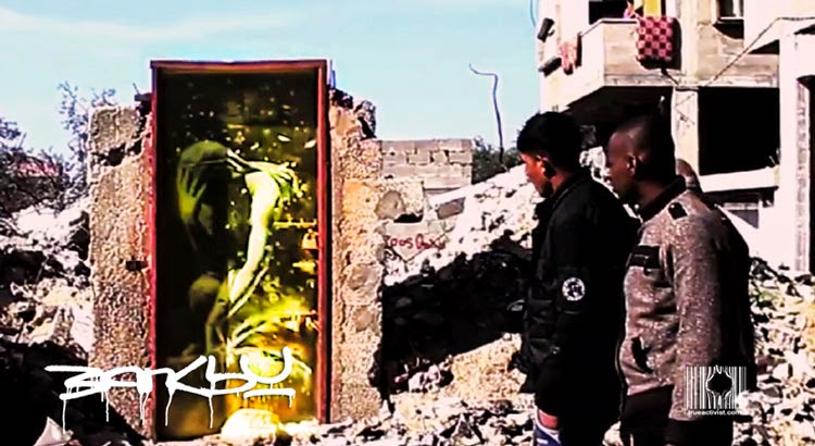 Banksy Just Released This 2-Minute Film About Gaza, The Dream Holiday Destination For 2015