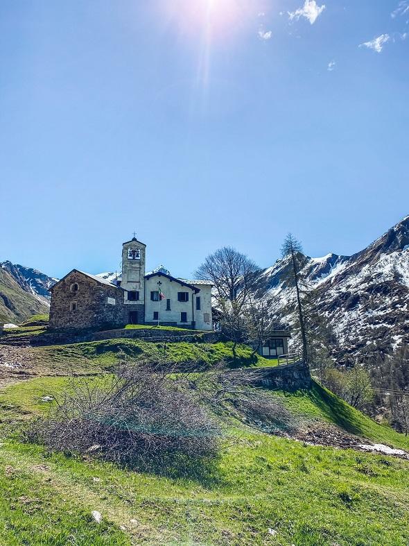 Santuario Madonna della neve Val Biandino