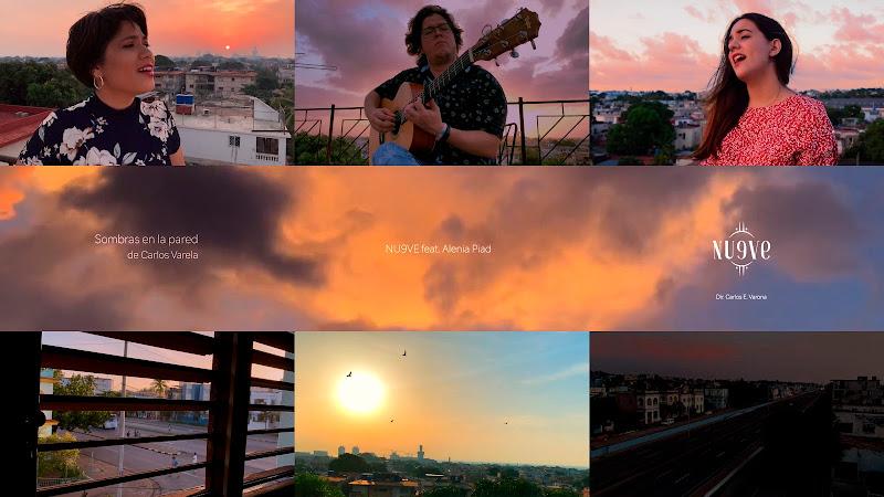 Nu9ve & Alenia Piad - ¨Sombras en la Pared¨ (Carlos Varela) - Videoclip - Director: Carlos Ernesto Varona. Portal Del Vídeo Clip Cubano. Música. Cuba.