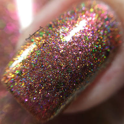 Girly Bits 29 & Holding March 2018 COTM swatch