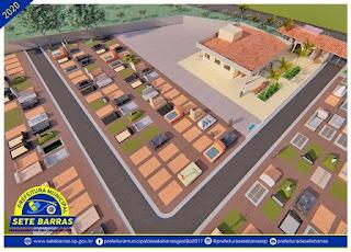 Prefeitura de Sete Barras apresenta maquete eletrônica do Novo Cemitério Municipal