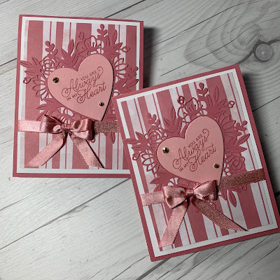 Valentine Cards using the Always In My Heart Bundle from Stampin' Up!